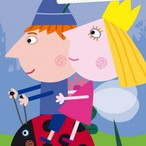 کارتون آموزش زبان فرانسوی Le Petit Royaume de Ben et Holly
