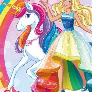 کارتون آموزش زبان اسپانیایی Barbie Dreamtopia
