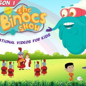 کارتون آموزش زبان انگلیسی Dr Binocs