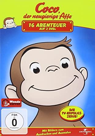 کارتون آموزش زبان آلمانی Coco der neugierige Affe