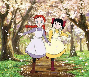 مجموعه کامل کارتون زبان انگلیسی آنشرلی دختری با موهای قرمز