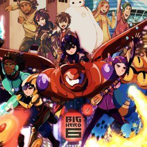 کارتون آموزش زبان انگلیسی Big Hero 6