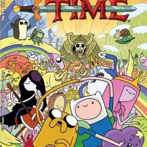 کارتون آموزش زبان انگلیسی Adventure Time