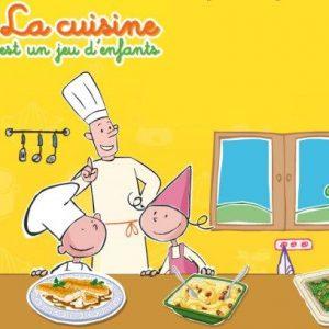 کارتون آموزش زبان فرانسوی La cuisine est un jeu d'enfants