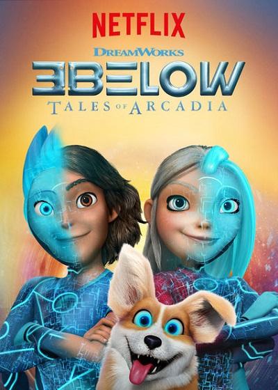 کارتون آموزش زبان انگلیسی 3Below Tales of Arcadia