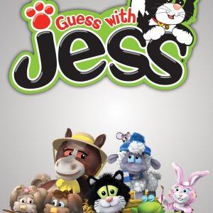 کارتون آموزش زبان اسپانیایی Guess with jess