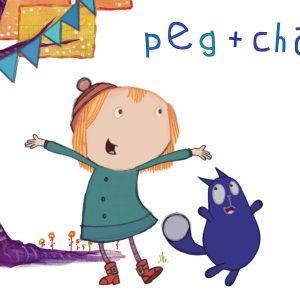 کارتون آموزش زبان فرانسوی Peg Chat