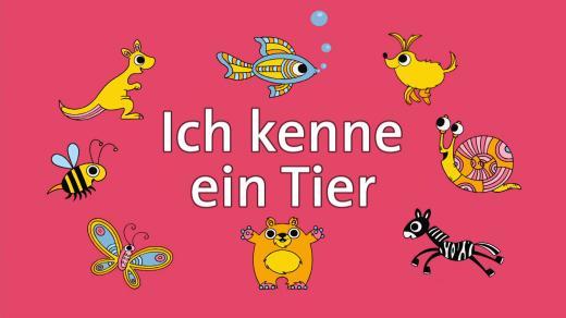 کارتون آموزش زبان آلمانی Ich kenne ein Tier