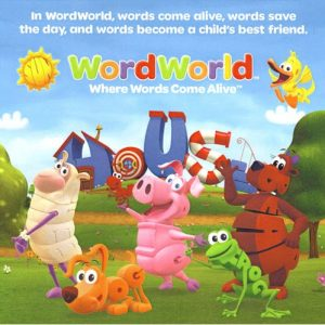 کارتون آموزش زبان انگلیسی Word World