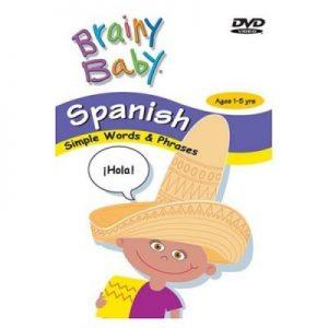 کارتون آموزش زبان اسپانیایی brainy baby