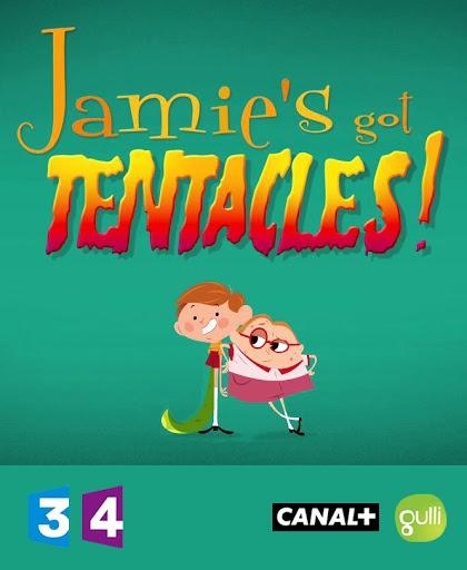 کارتون آموزش زبان فرانسوی Jamie à des tentacules