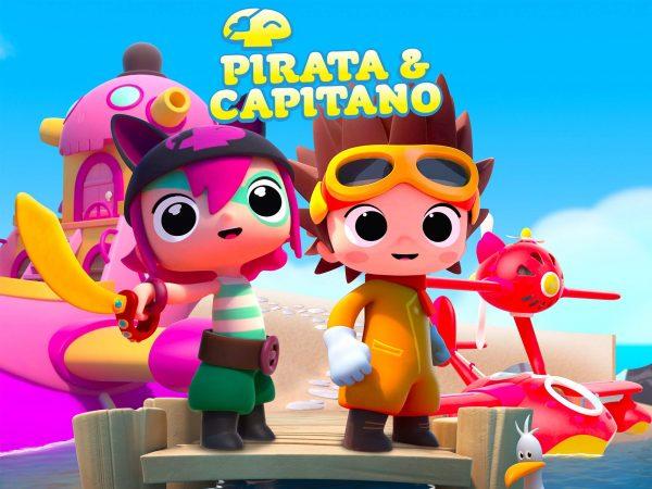 کارتون آموزش زبان چینی pirata capitano